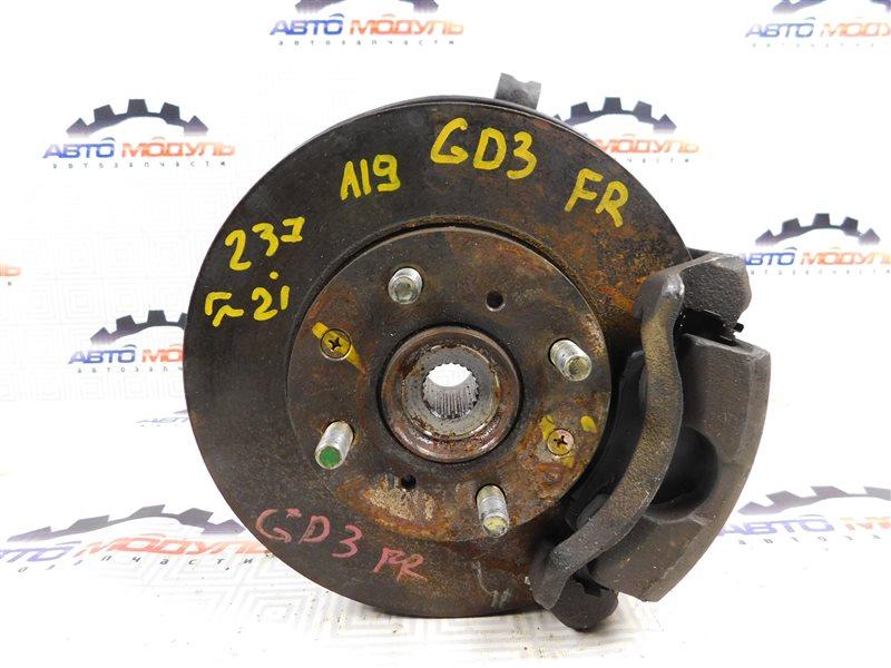 Диск тормозной Honda Fit GD2 передний