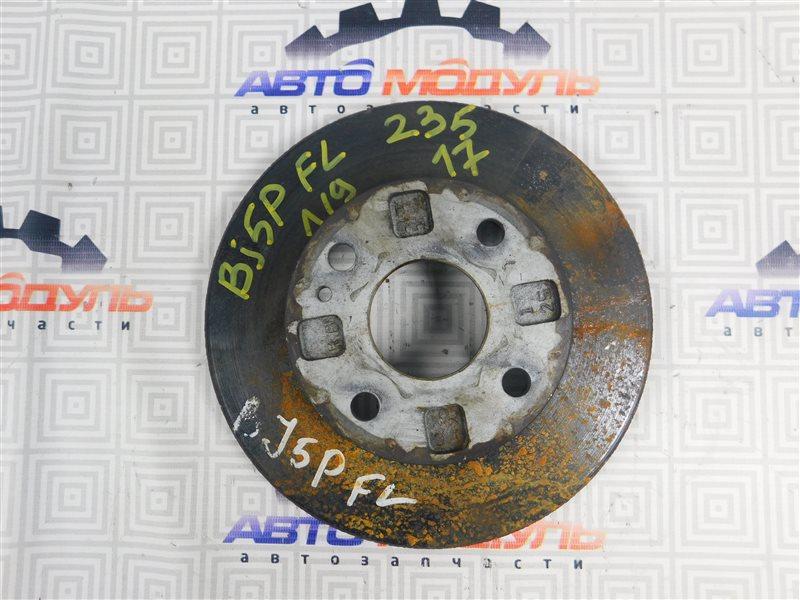 Диск тормозной Mazda Familia BG3S передний