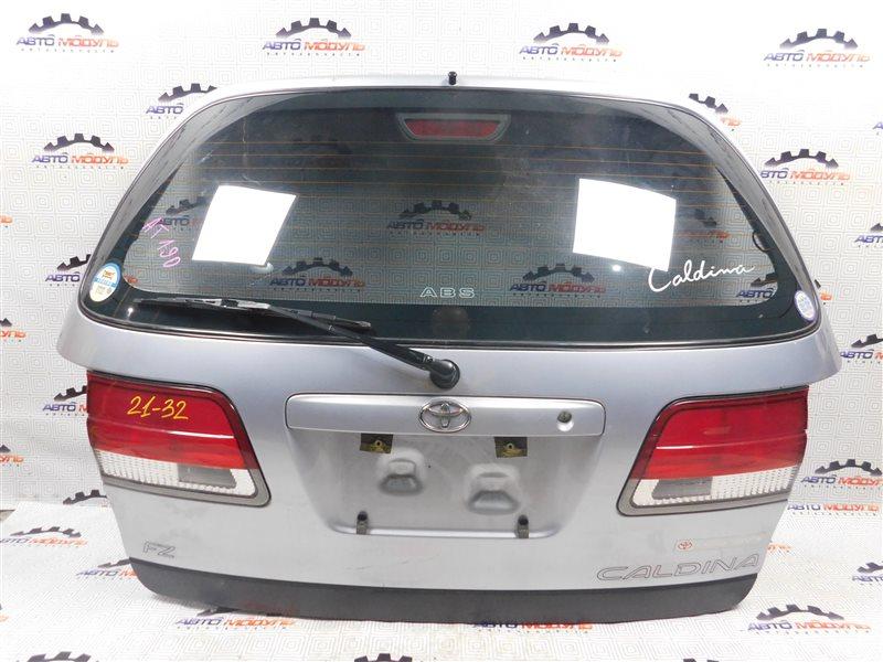 Дверь 5-я Toyota Caldina AT191-0039885 7A-FE 1997 задняя