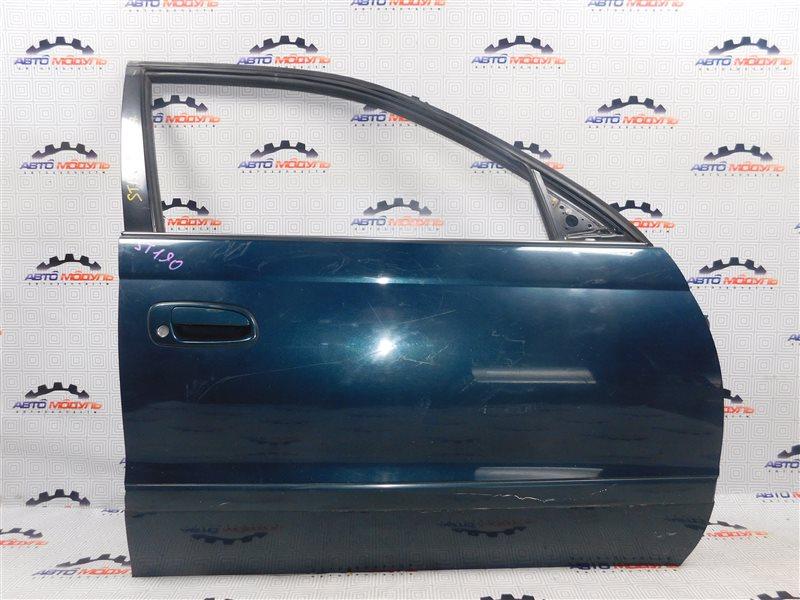 Дверь Toyota Corona ST190-0008441 4S-FE 1992 передняя правая
