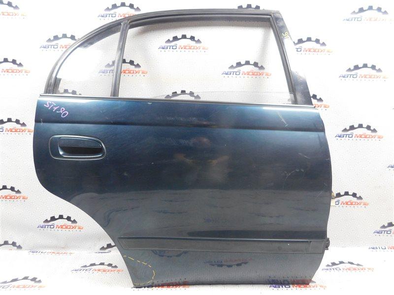 Дверь Toyota Corona ST190-0008441 4S-FE 1992 задняя правая
