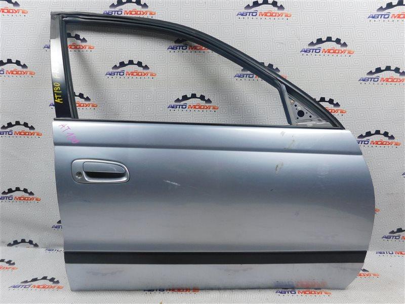 Дверь Toyota Caldina AT191-0039885 7A-FE 1997 передняя правая