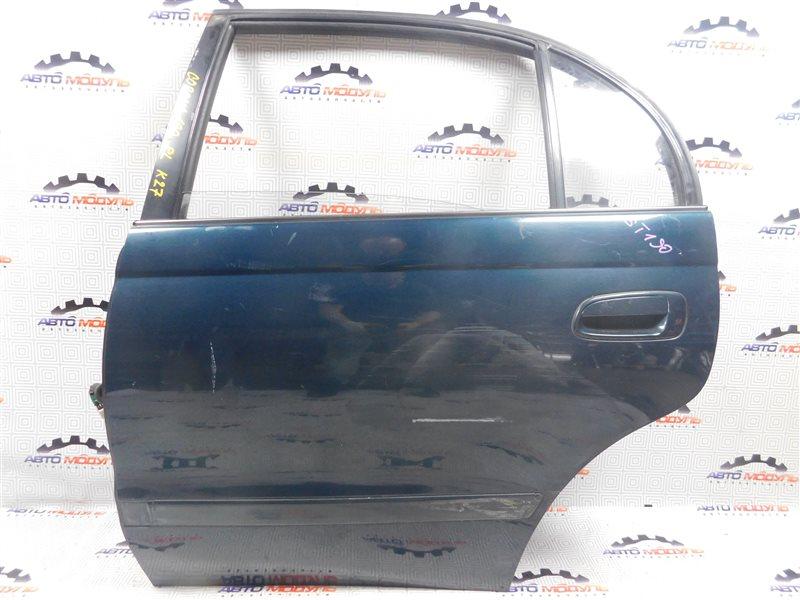 Дверь Toyota Corona ST190-0008441 4S-FE 1992 задняя левая