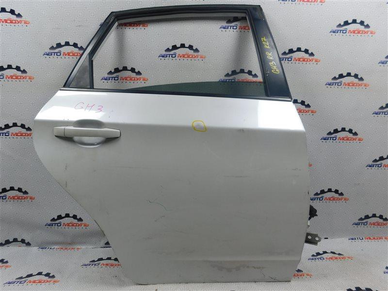 Дверь Subaru Impreza GH3-004109 EL154 2007 задняя правая