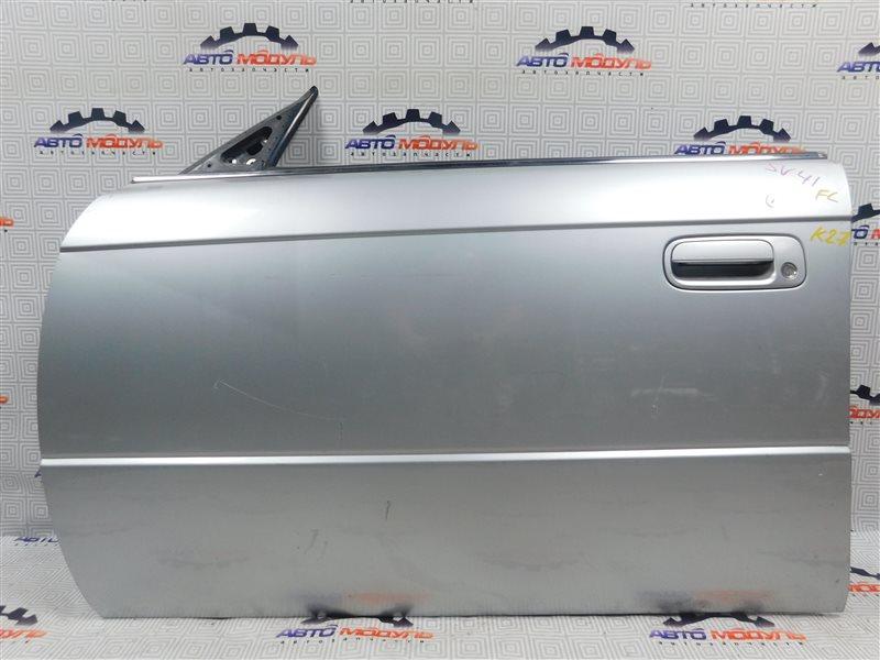 Дверь Toyota Vista SV41-0064676 3S-FE 1997 передняя левая