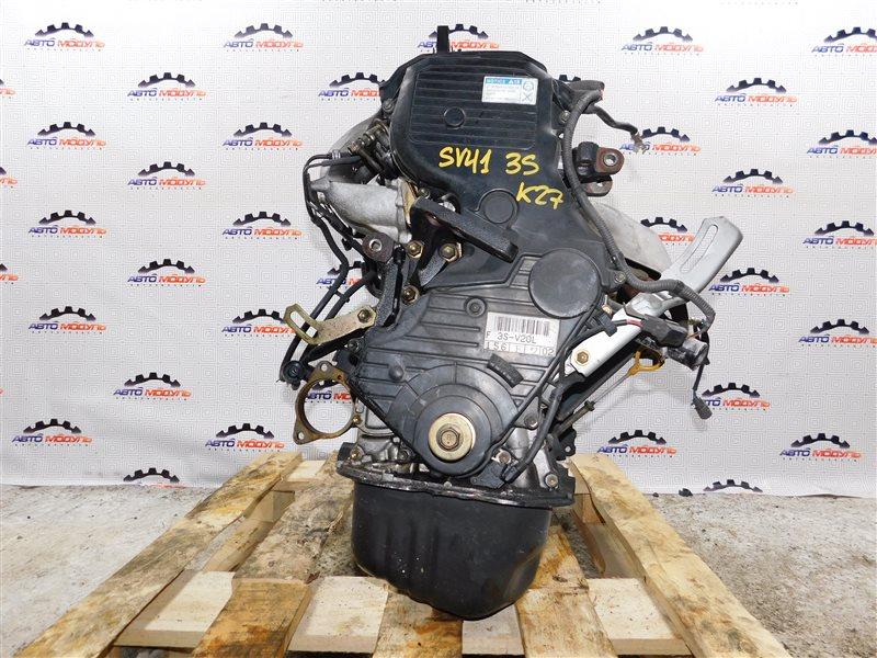 Двигатель Toyota Vista SV41-0064676 3S-FE 1997