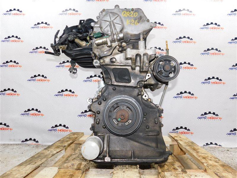 Двигатель Nissan Serena TC24 QR20-DE