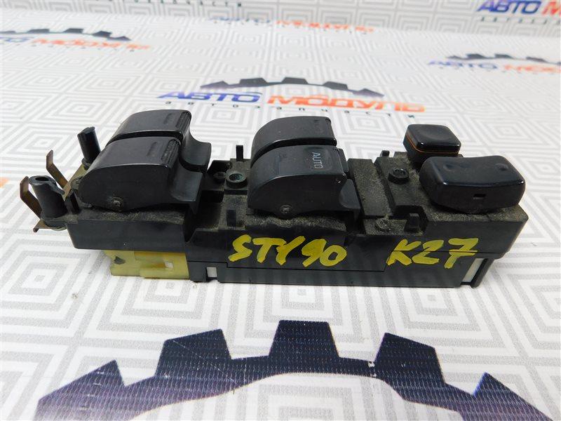 Блок упр. стеклоподьемниками Toyota Corona ST190-0008441 4S-FE 1992 передний правый