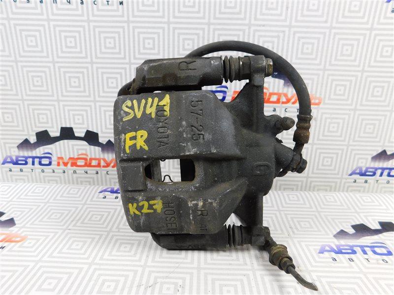 Суппорт Toyota Vista SV41-0064676 3S-FE 1997 передний правый