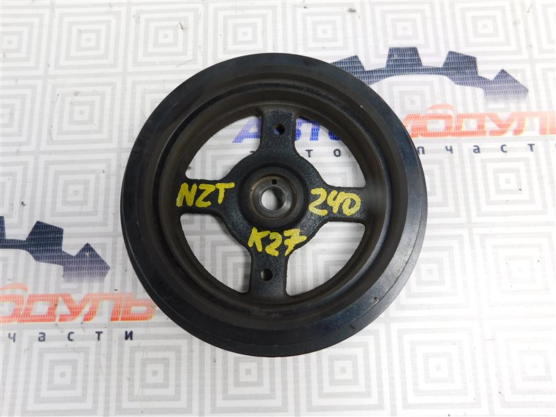 Шкив коленвала Toyota Premio NZT240-0030197 1NZ-FE 2002