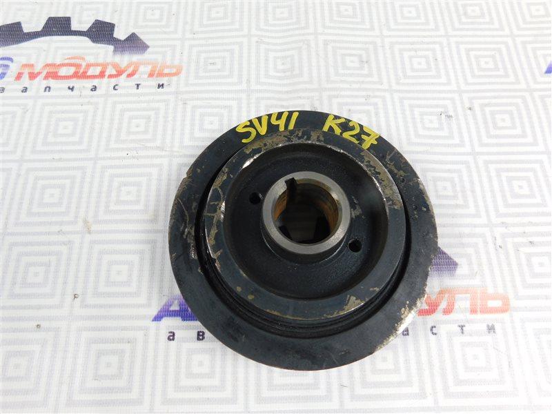 Шкив коленвала Toyota Vista SV41-0064676 3S-FE 1997