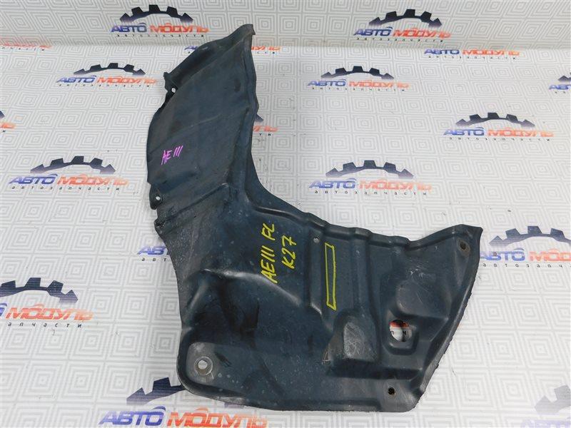 Защита двигателя Toyota Corolla Spacio AE111-6046386 4A-FE 1997 левая