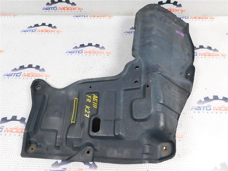 Защита двигателя Toyota Corolla Spacio AE111-6046386 4A-FE 1997 правая