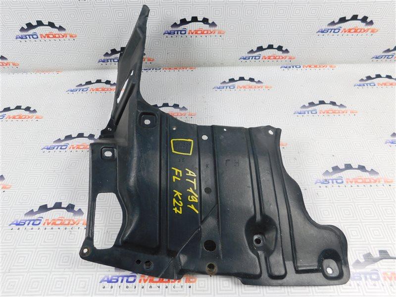 Защита двигателя Toyota Caldina AT191-0039885 7A-FE 1997 передняя левая