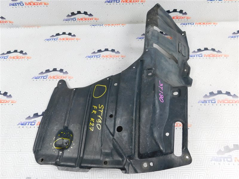 Защита двигателя Toyota Corona ST190-0008441 4S-FE 1992 передняя правая