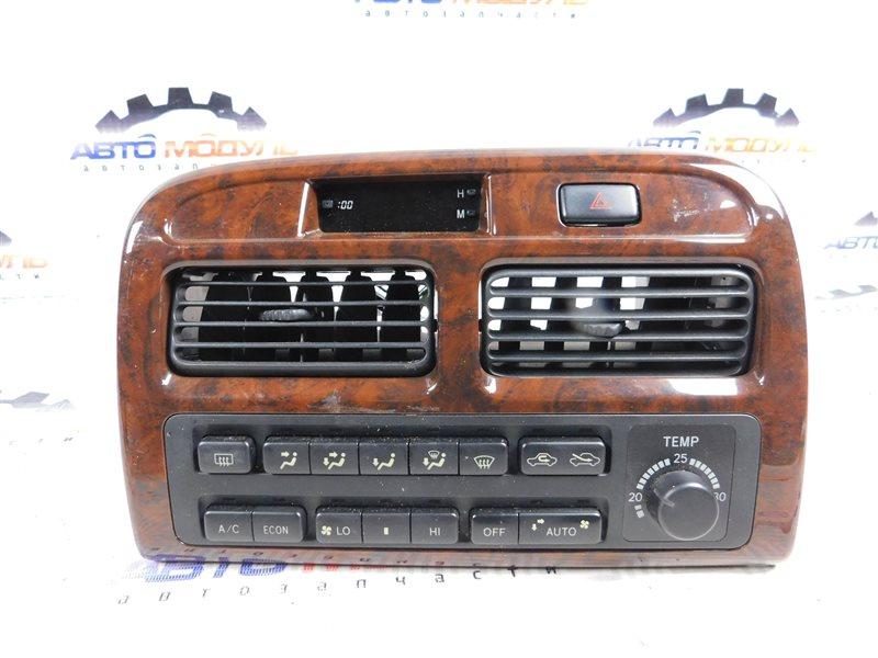 Блок управления климат-контролем Toyota Vista SV41-0064676 3S-FE 1997