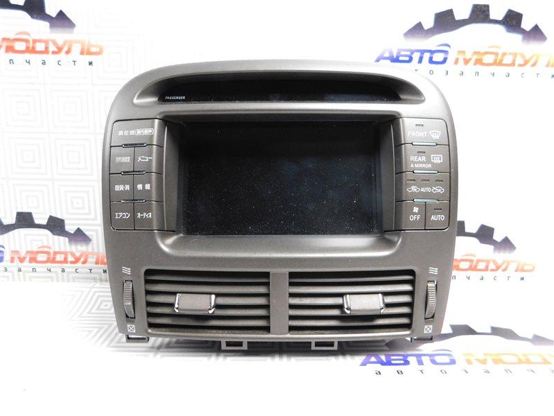 Блок управления климат-контролем Toyota Celsior UCF31-0044904 3UZ-FE 2003