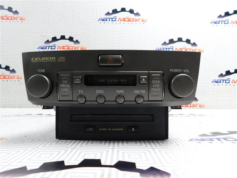 Магнитофон Toyota Celsior UCF31-0044904 3UZ-FE 2003