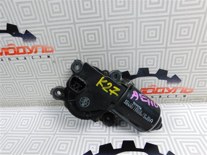 Мотор дворников Toyota Corolla AE110-5294645 5A-FE 1999 передний