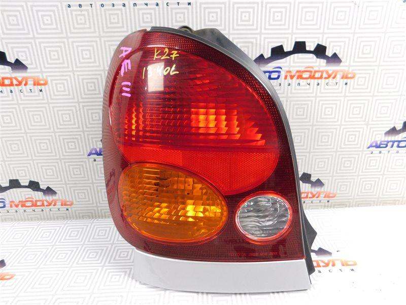 Стоп Toyota Corolla Spacio AE111-6046386 4A-FE 1997 левый