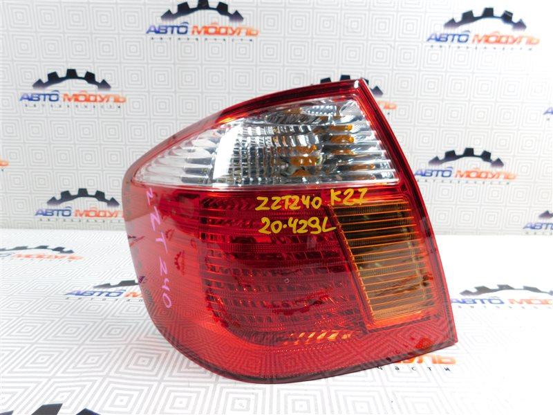 Стоп Toyota Premio ZZT240-0063769 1ZZ 2003 левый