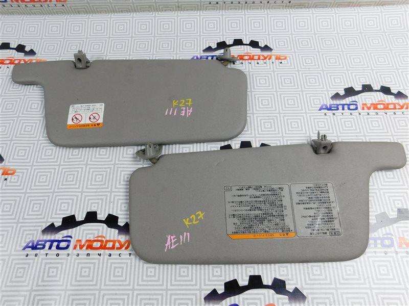 Козырек солнцезащитный Toyota Corolla Spacio AE111-6046386 4A-FE 1997