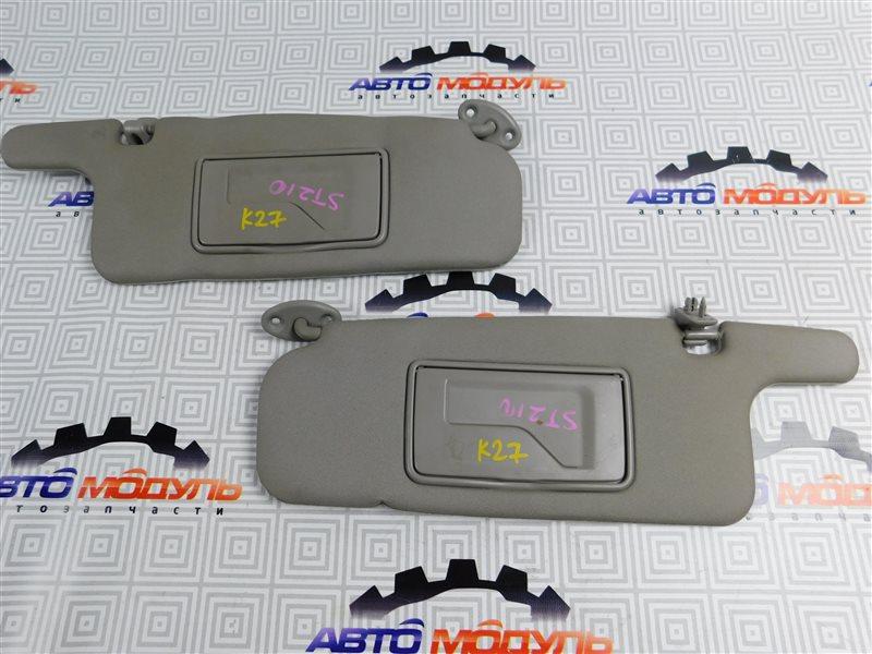 Козырек солнцезащитный Toyota Caldina ST210-4059666 3S-FE 2002