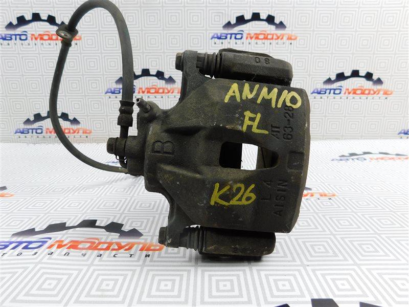 Суппорт Toyota Isis ANM10-0090831 1AZ-FSE 2007 передний левый