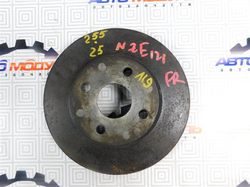Диск тормозной Toyota Corolla Spacio NZE121 передний