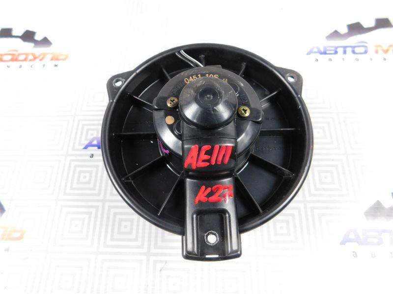 Мотор печки Toyota Corolla Spacio AE111-6046386 4A-FE 1997