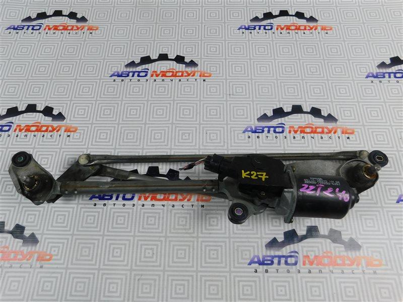 Мотор дворников Toyota Premio ZZT240-0063769 1ZZ 2003 передний