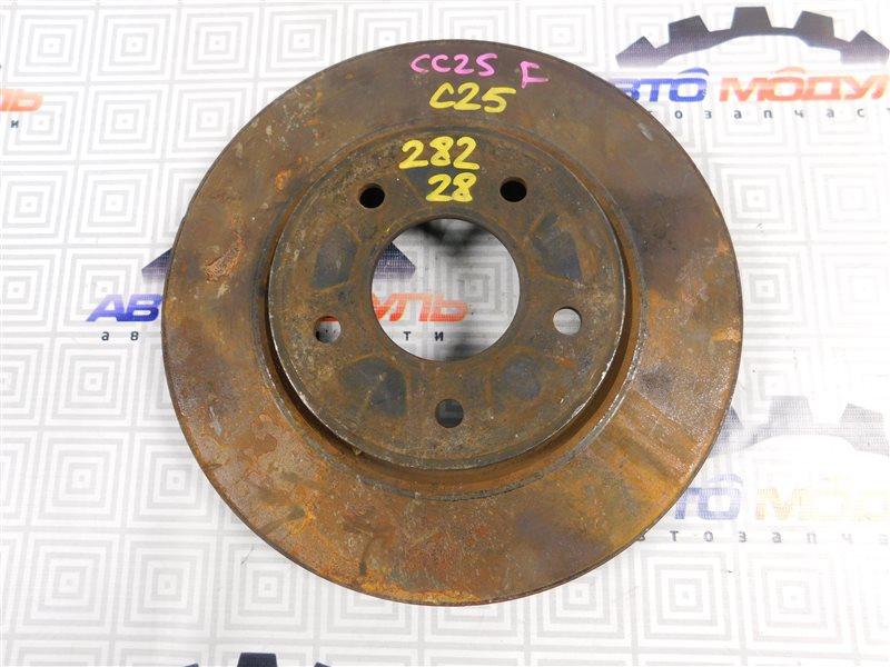 Диск тормозной Nissan Serena C25 передний