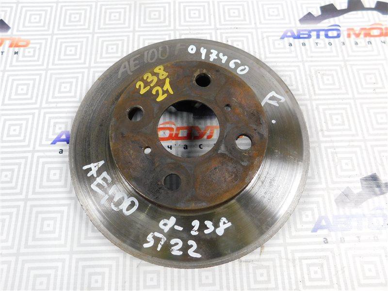 Диск тормозной Toyota Corolla AE100 передний