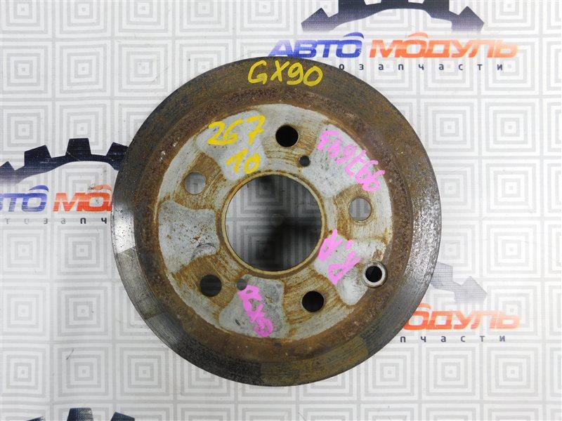 Диск тормозной Toyota Markii GX90 задний