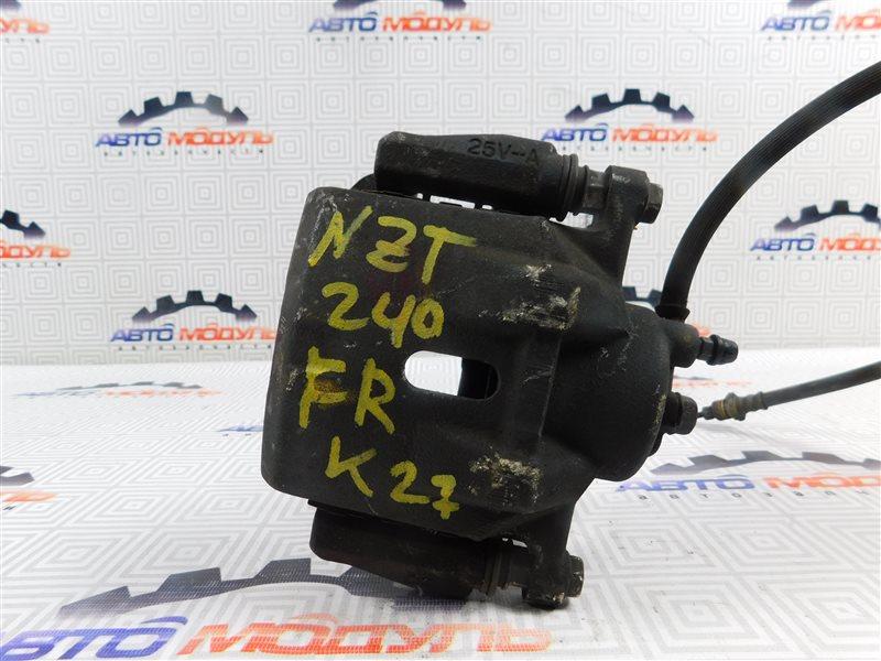 Суппорт Toyota Premio NZT240-0030197 1NZ-FE 2002 передний правый