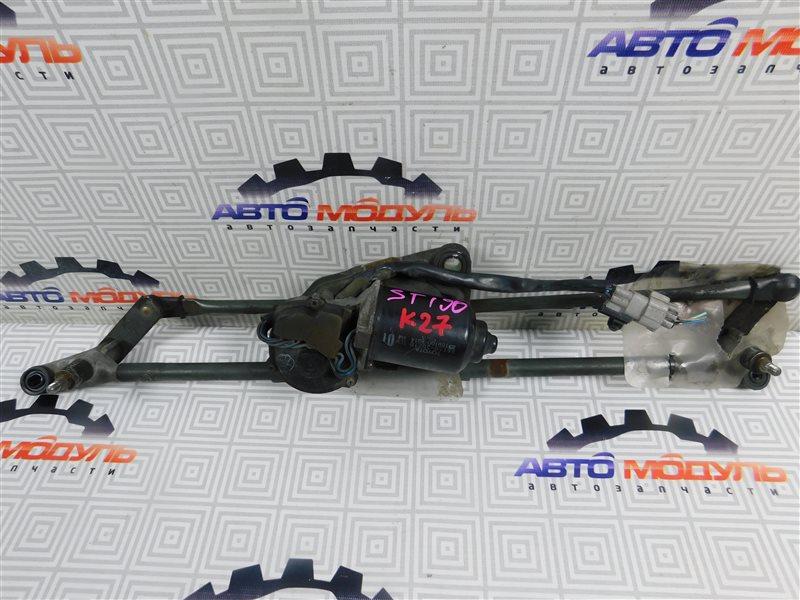Мотор дворников Toyota Corona ST190-0008441 4S-FE 1992 передний
