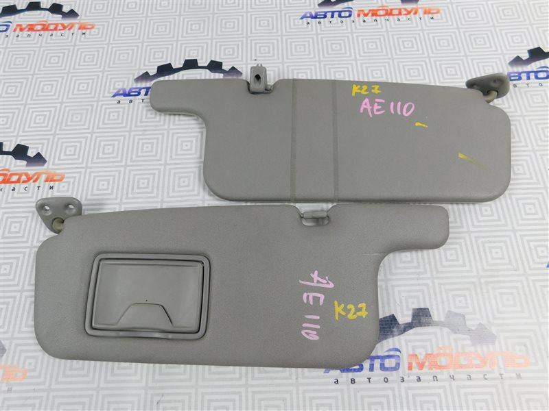 Козырек солнцезащитный Toyota Sprinter Trueno AE110-5018467 5A-FE 1995