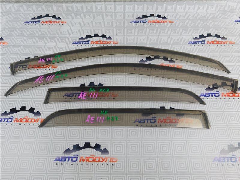 Ветровики Toyota Corolla Spacio AE111-6046386 4A-FE 1997