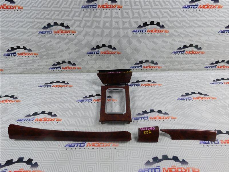 Консоль Toyota Premio NZT240-0030197 1NZ-FE 2002