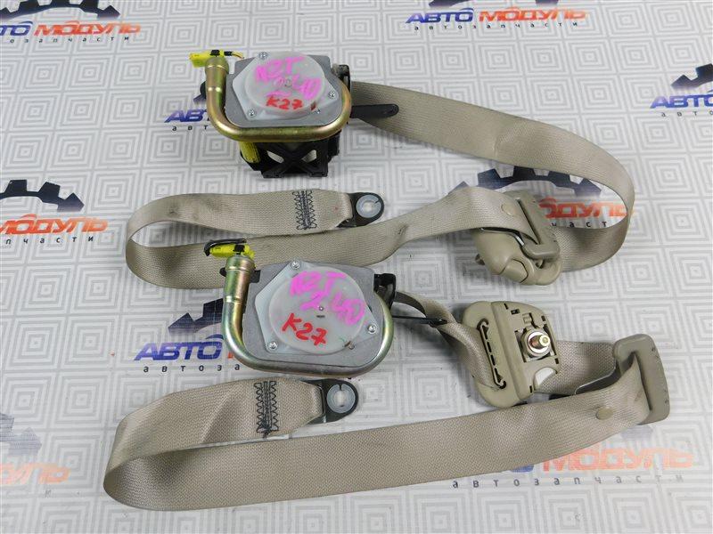 Ремень безопасности Toyota Premio NZT240-0030197 1NZ-FE 2002 передний