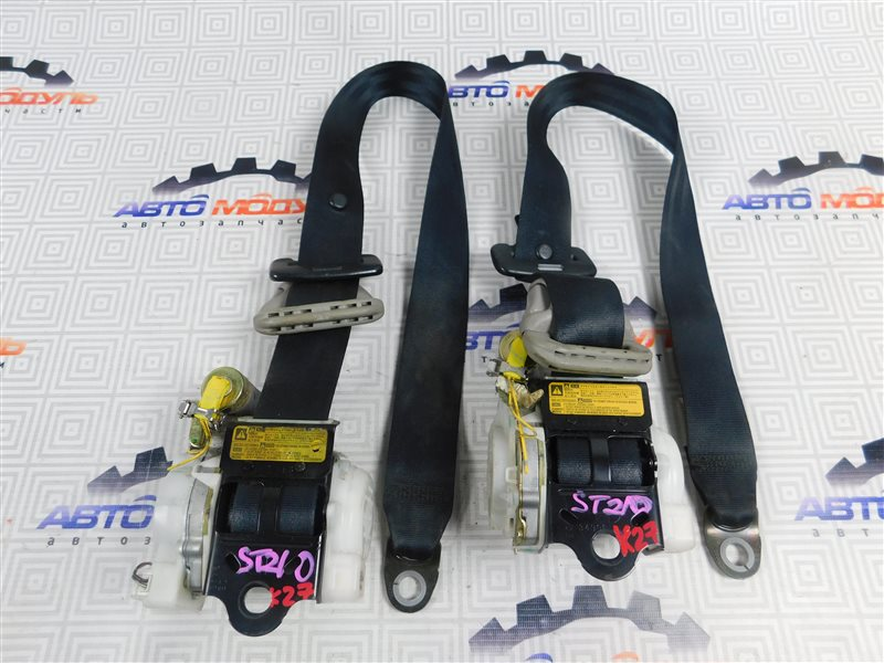 Ремень безопасности Toyota Caldina ST210-4059666 3S-FE 2002 передний