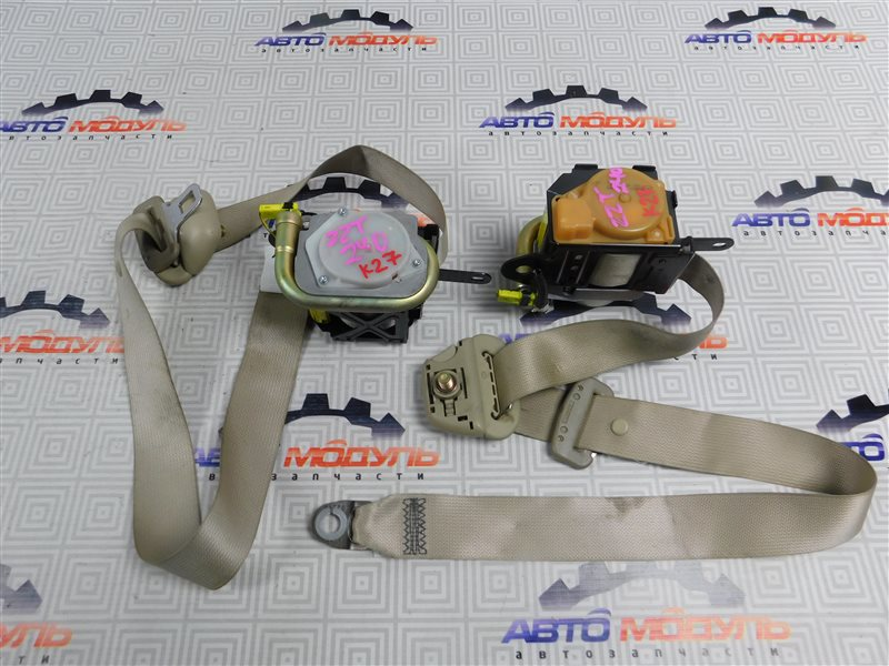 Ремень безопасности Toyota Premio ZZT240-0063769 1ZZ 2003 передний