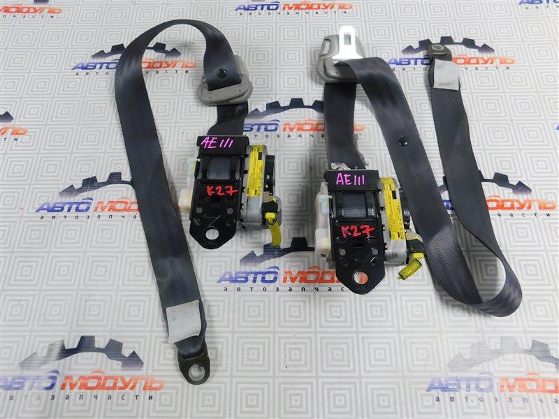 Ремень безопасности Toyota Corolla Spacio AE111-6046386 4A-FE 1997 передний