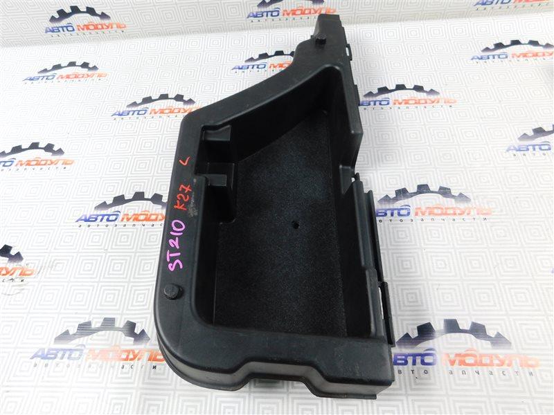 Пол багажника пластик Toyota Caldina ST210-4059666 3S-FE 2002 левый