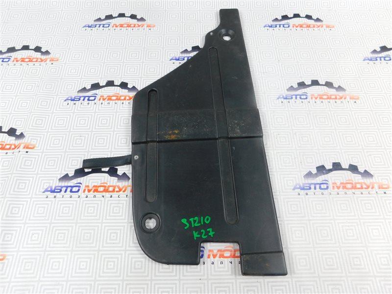 Пол багажника пластик Toyota Caldina ST210-4029840 3S-FE 1999 левый