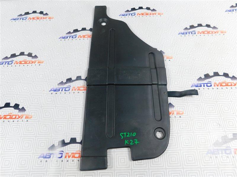 Пол багажника пластик Toyota Caldina ST210-4029840 3S-FE 1999 правый