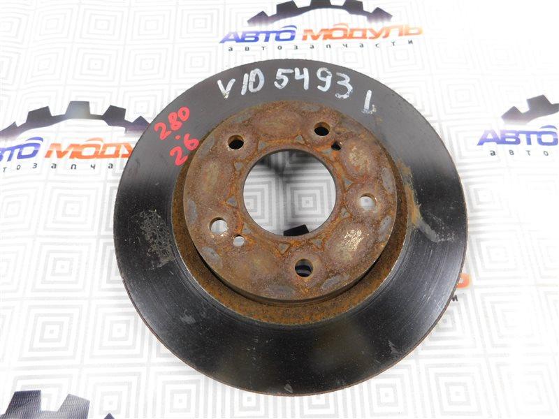 Диск тормозной Nissan Tino V10 передний