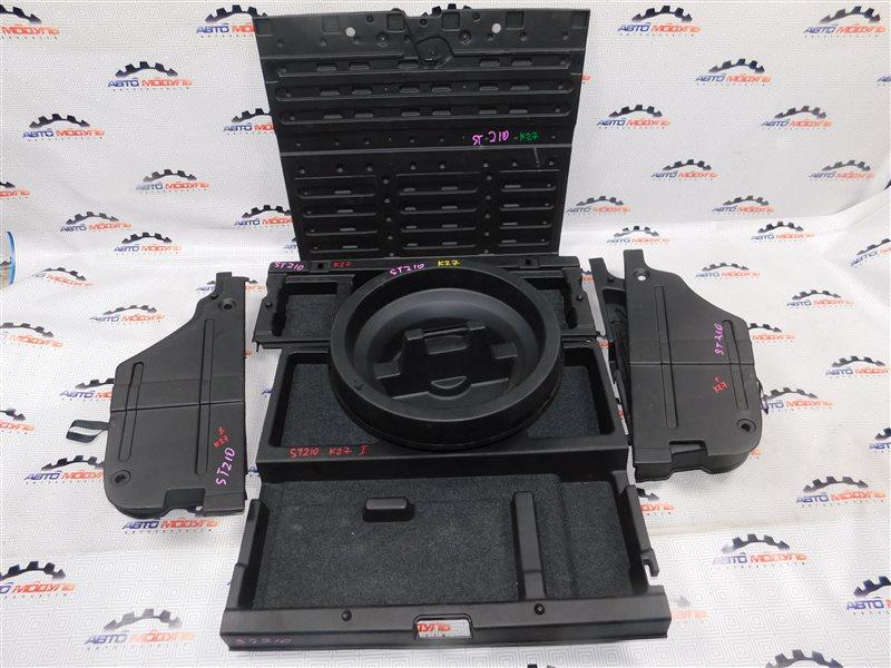 Пол багажника пластик Toyota Caldina ST210-4029840 3S-FE 1999