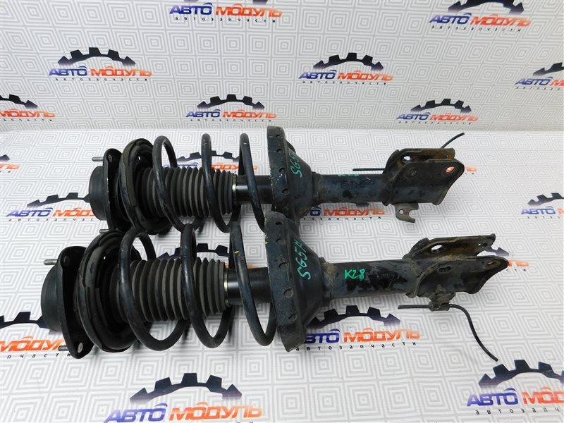 Стойка Subaru Forester SG5-064423 EJ205 2004 передняя правая