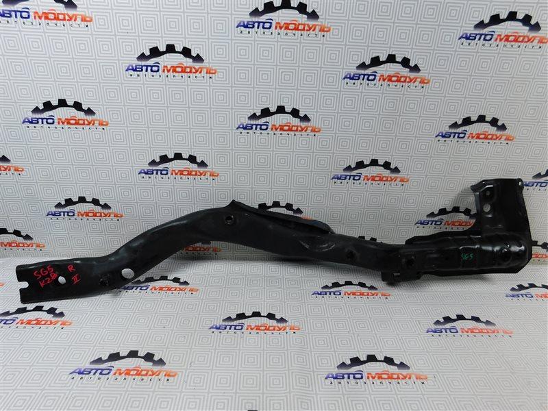 Балка под двс Subaru Forester SG5-092424 EJ203 2005 передняя правая